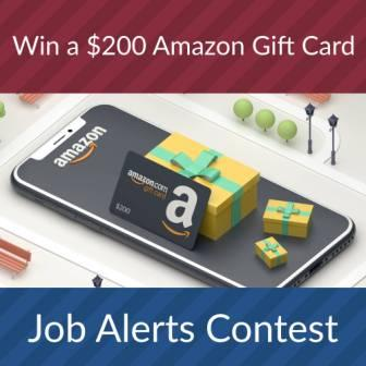 Enter job alerts contest now!