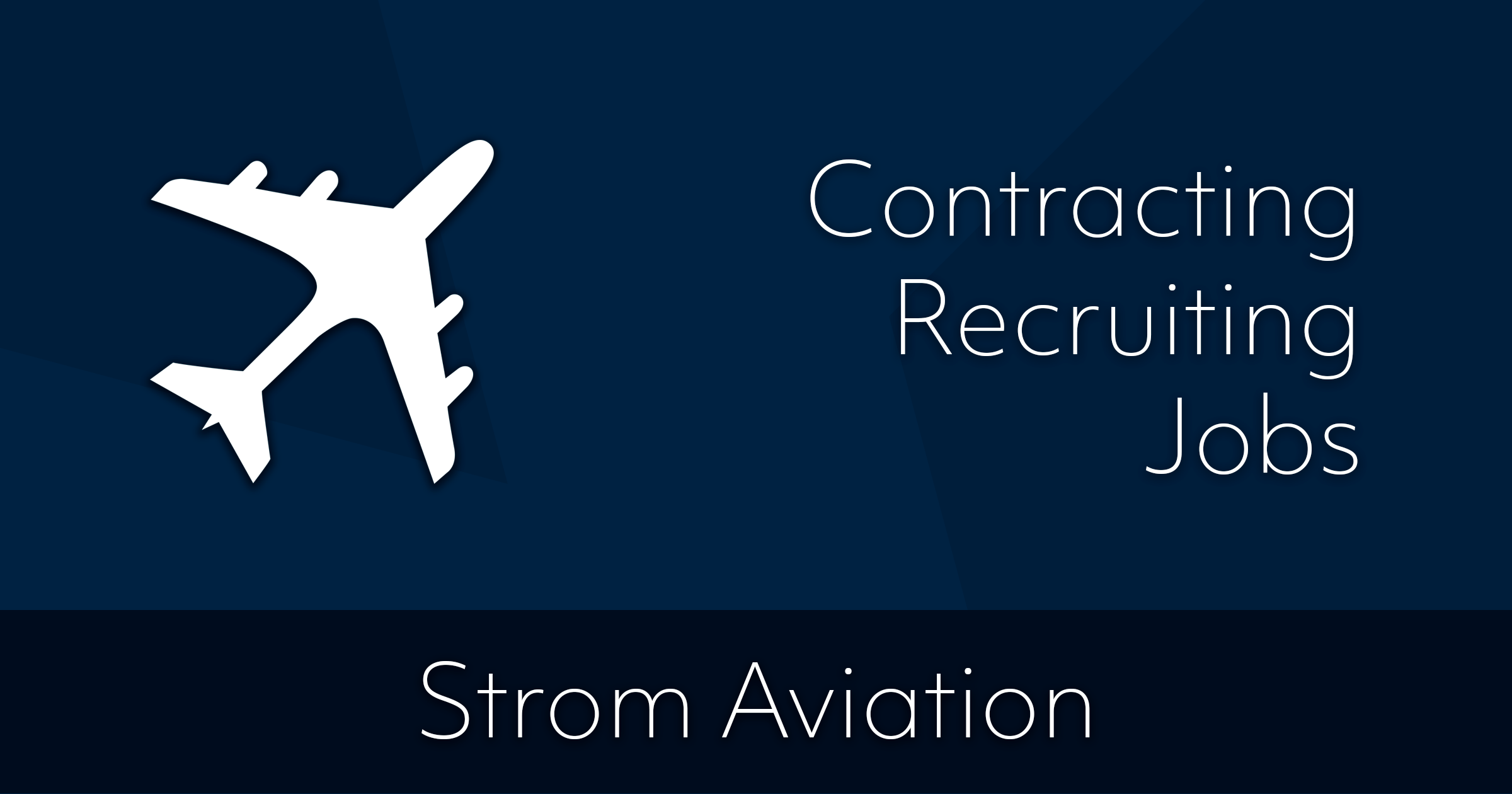 Strom Aviation Inc Staffing Openings Jobs Aerospace Wire Harness Ties